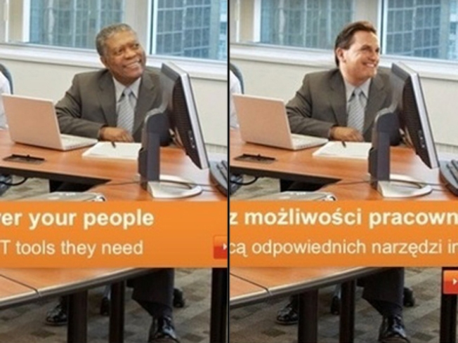 Photoshop Magic Erases Black Man in Microsoft Ad