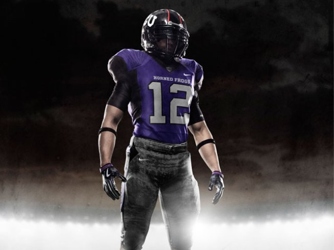 "TCU Will Wear Special ""Pro Combat"" Uniforms Saturday"