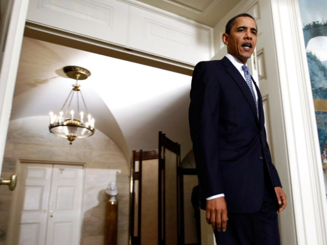 Obama Takes Credit For Positive Economic Signs
