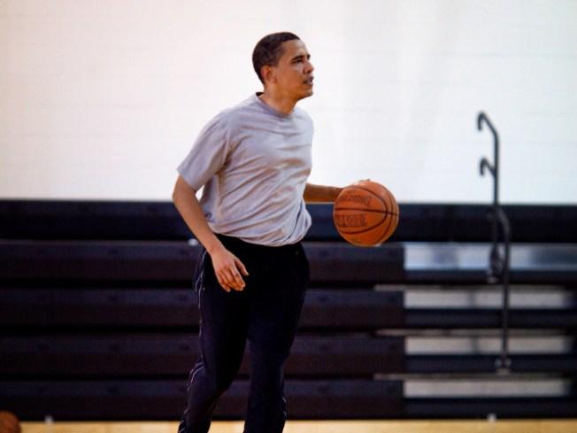 Obama Talks Keeping Fit, Looking Good
