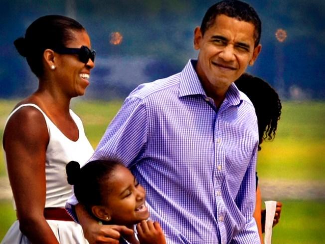 Obamas Seek Privacy on Vineyard Vacay