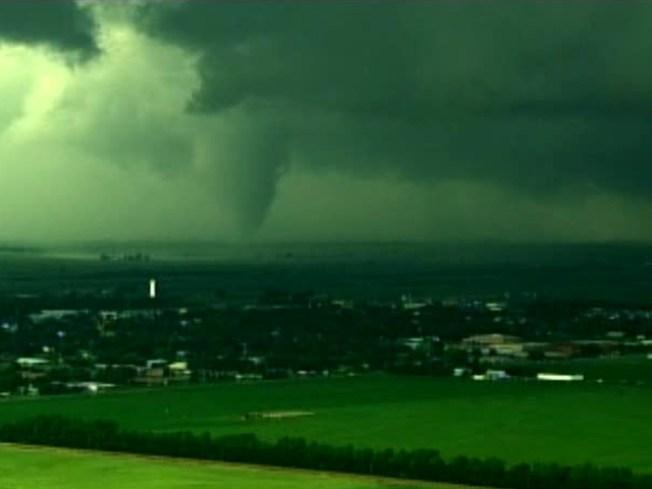 Twisters Reported Across Oklahoma