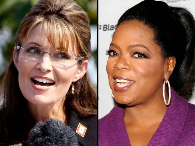 "Palin Tells Oprah: ""I Don't Even Like to Shop"""