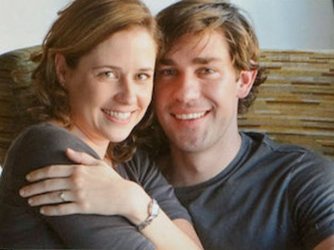 Jim And Pam Wedding.Pam And Jim Tie The Knot Nbc 5 Dallas Fort Worth