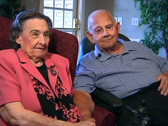 Couple Flying High After 65 Years of Wedded Bliss