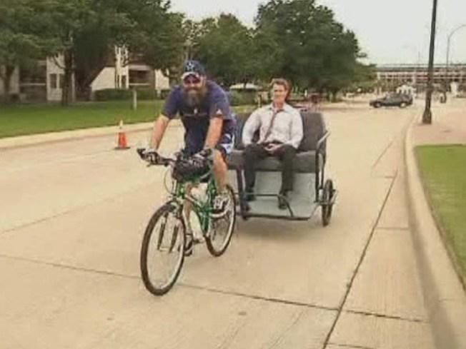Rickshaws Pedal Their Way Into Oak Cliff