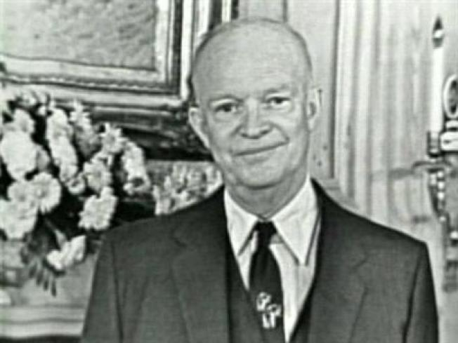 Monument Dedicated in Eisenhower's North Texas Birthplace