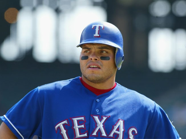 1 Day After Signing, Pudge Ready to Bat