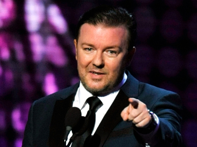 Ricky Gervais to Host the Golden Globes