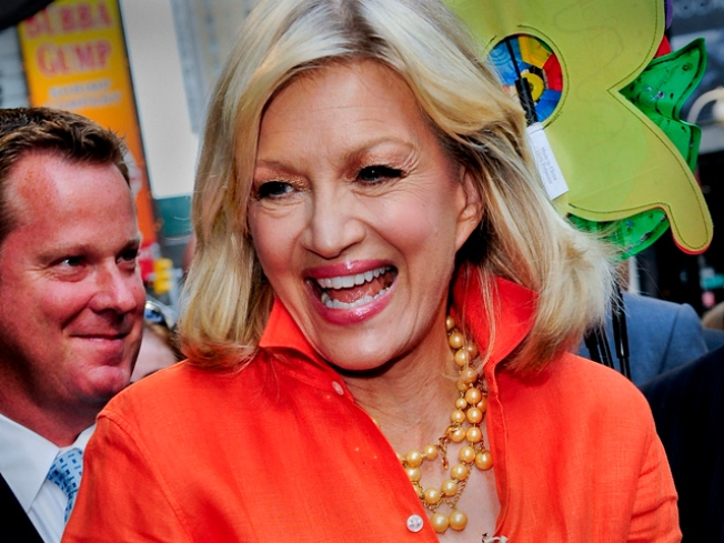 "Diane Sawyer Breaks Silence About Election Night Performance, Finds Speculation ""Funny"""