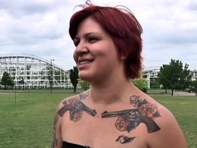 Six Flags Asks Inked Customer to Cover Tattoos