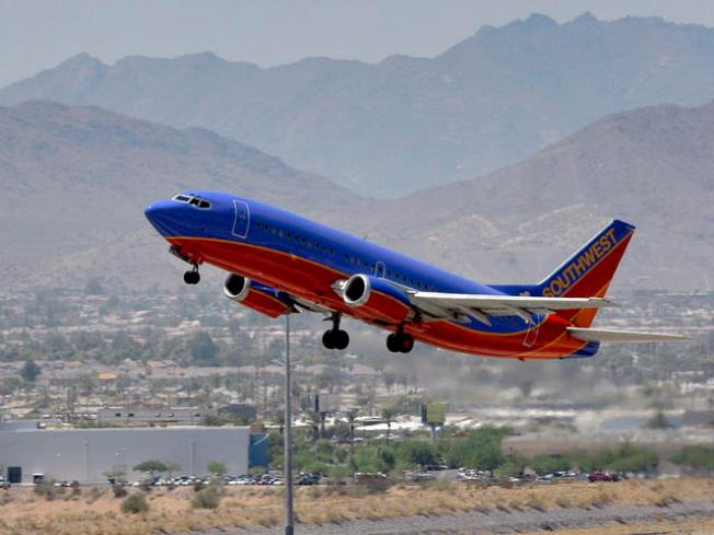 Southwest Traffic Down, Revenue Up