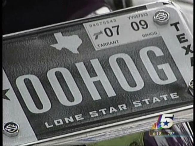 Texas Plates Getting Flashier
