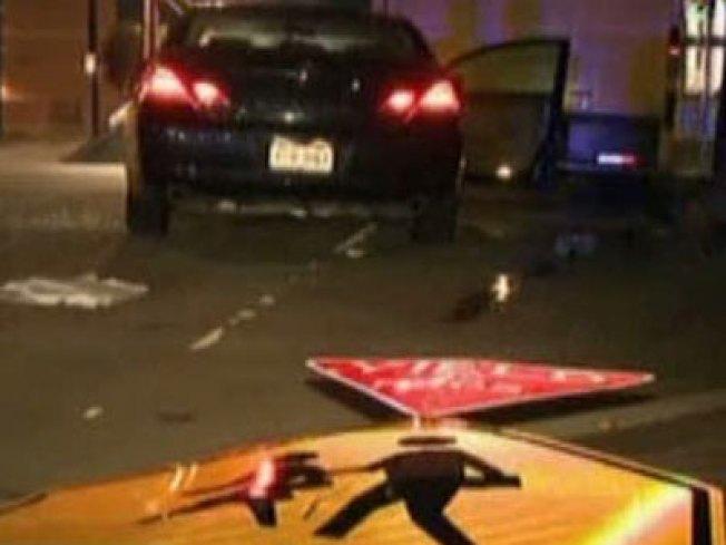 Driver Crashes, Good Samaritans Come to Rescue