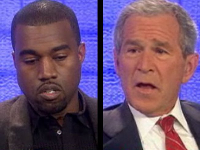 Bush Forgives Kanye West for Racist Comment