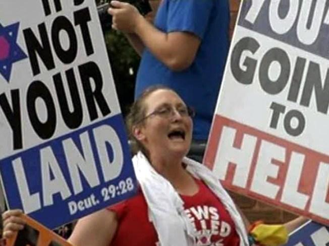North Texans, Kansas Church Members Face Off