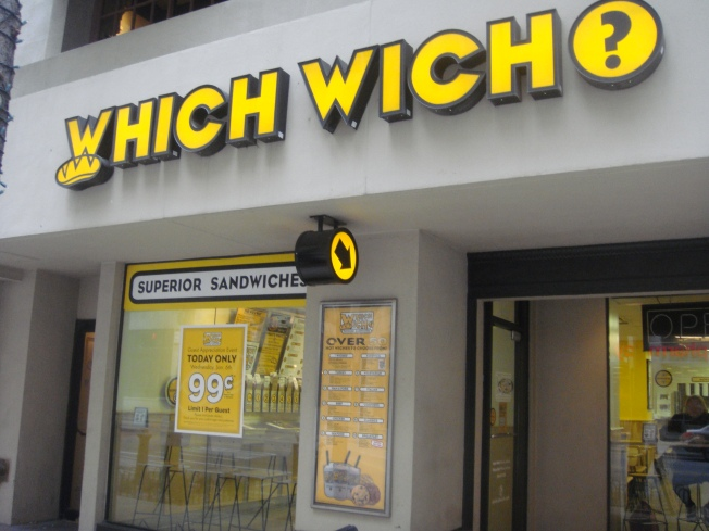 A Which Wich For Less Than a Buck