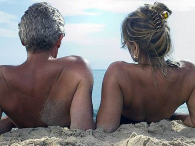 Texas Nudists Coping With Heat in Obvious Way