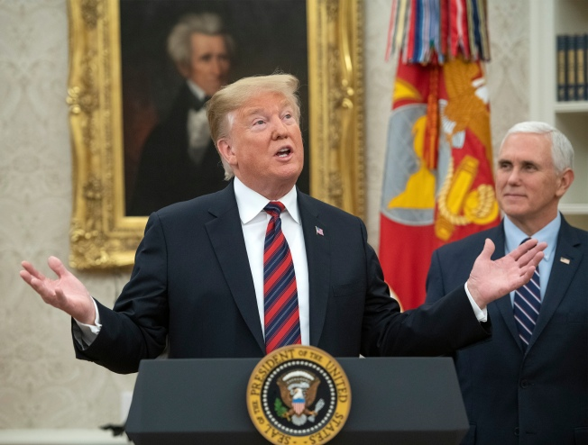 Fact Check: Trump's Twists on Russia, Shutdown, Vets