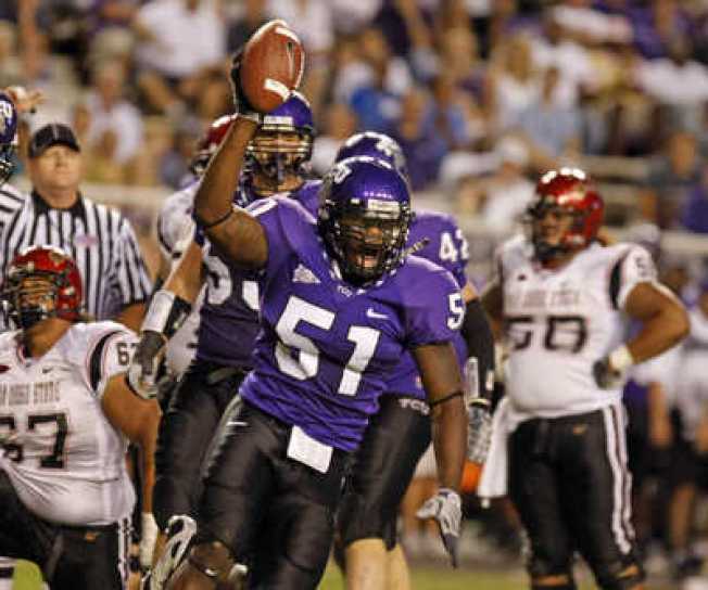 TCU's Henson Might Be Out of Poinsettia Bowl
