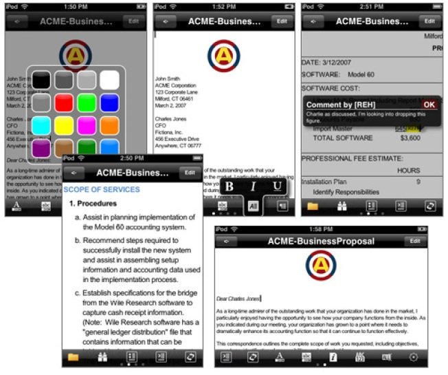 iPhone Gets Down to Business with Cut, Copy, & Paste