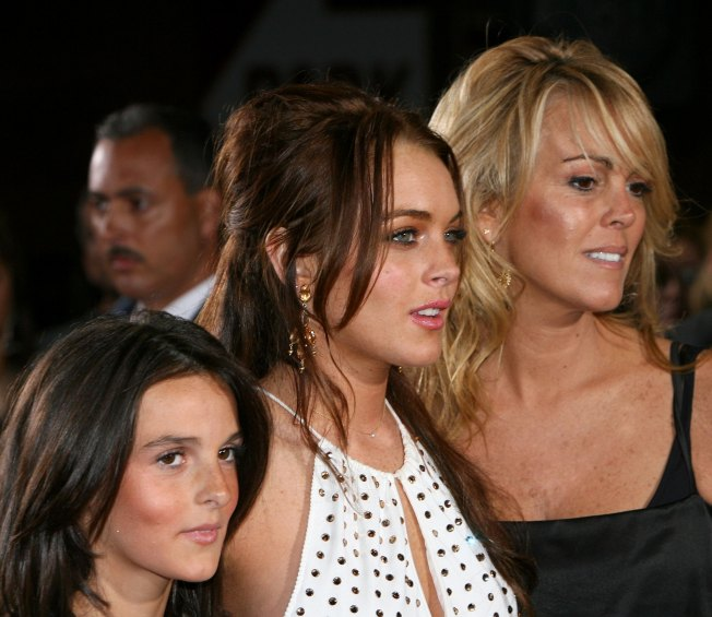 Dina Lohan On The Release Of Phone Recordings: 'It's So Hurtful To My Children'