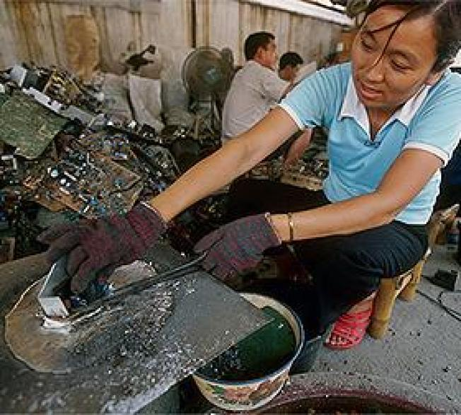 EPA Faulted for Failing to Control E-Waste Exports