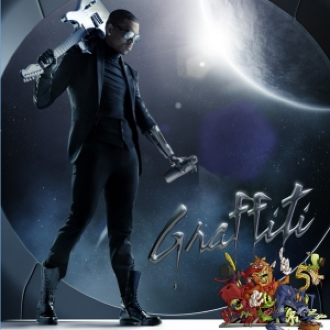 "Chris Brown Reveals ""Graffiti"" Album Cover Art"
