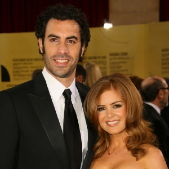 Sacha Baron Cohen & Isla Fisher Reportedly Wed in Paris