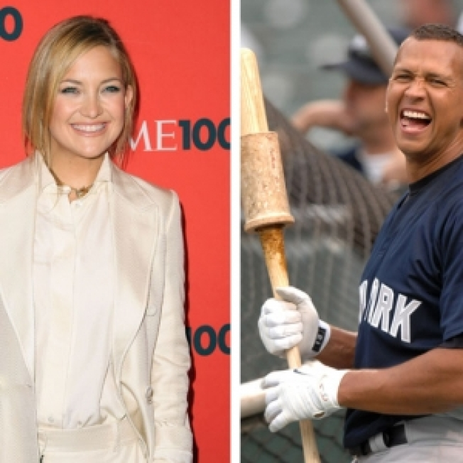 ROLL CALL:  Did Kate Hudson Go To Bat With A-Rod?