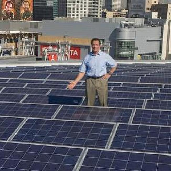 Solar Powers Staples Center Events, Green Cuisine Factory