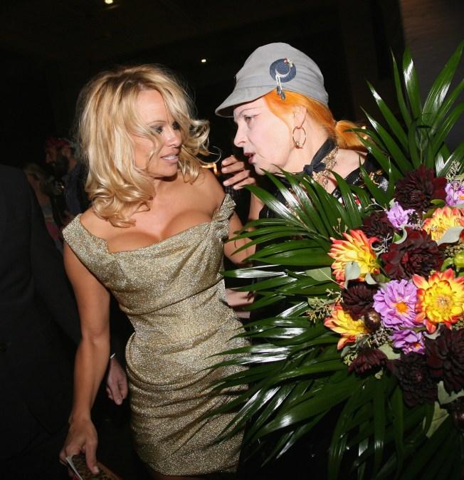 Pamela Anderson + Vivienne Westwood = Book Club