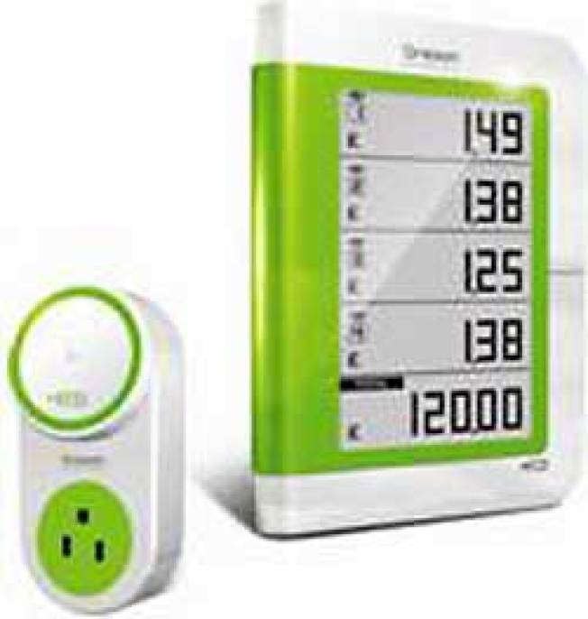 Green Gadgets Let You Track Energy Use