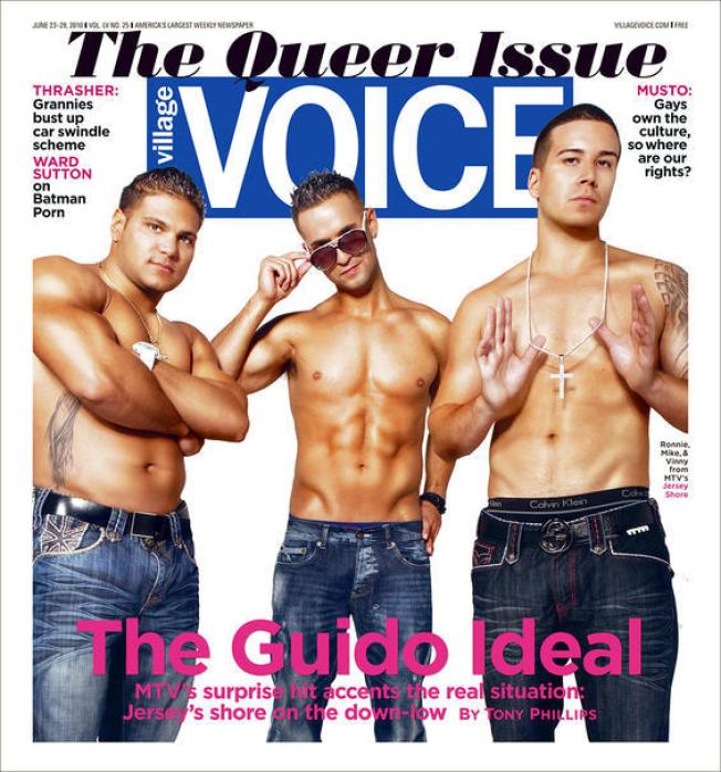 """""""Jersey Shore"""" Cover Shoot Creates Queer Situation"""