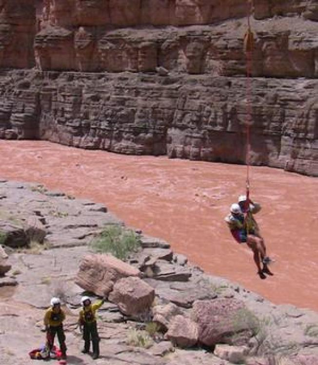 Grand Canyon Flooding Forces Evacuation of 400 People