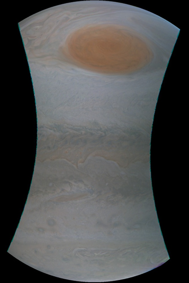 [NATL] NASA's Juno Probe Gets Up Close With Jupiter's Famed Red Spot