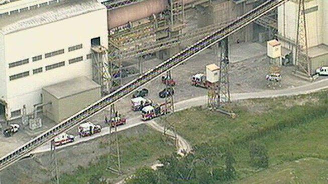 Cement Kilns In Texas : Four burned at midlothian cement plant nbc dallas fort