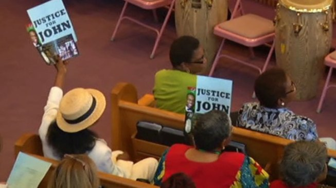 Rally In Support Of Commissioner Price Draws Hundreds