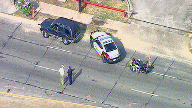 Two DPD Motorcycle Officers Involved in Crash