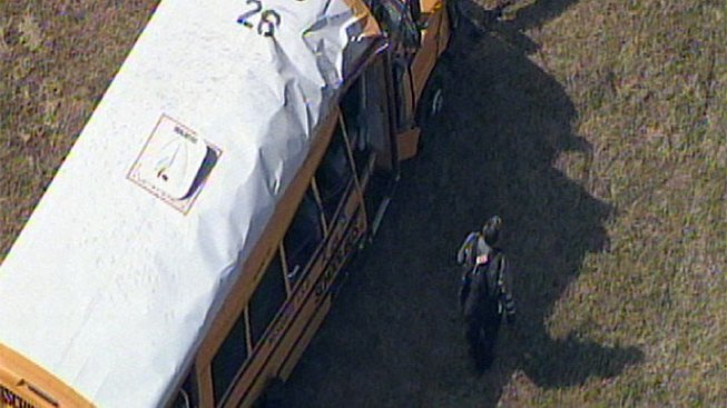 Special Needs Bus Rolls on I-635 - NBC 5 Dallas-Fort Worth