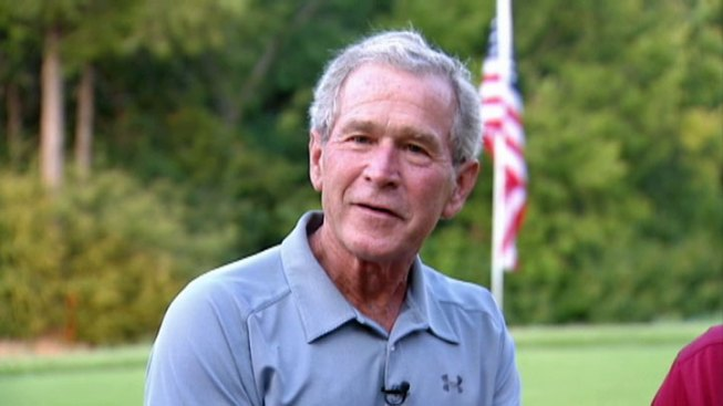 George W. Bush Hosts Wounded Veterans Golf Tournament