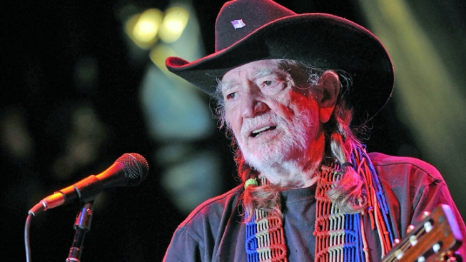 Willie Nelson Singing at Wendy Davis Fundraiser