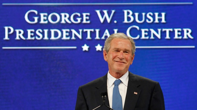 Bush Library Fundraising Surpasses $300 Million Goal