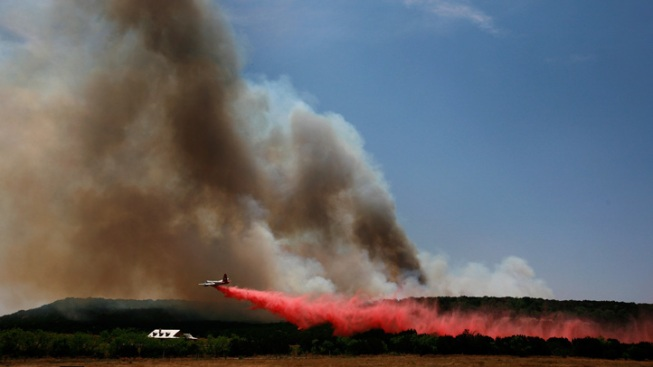 Palo Pinto Wildfire Growing Uncontained