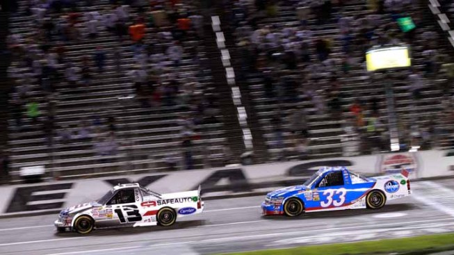 Hornaday Wins When Sauter Black-Flagged at Texas