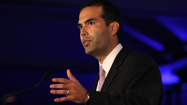 George P. Bush Takes Stage at GOP Fundraiser