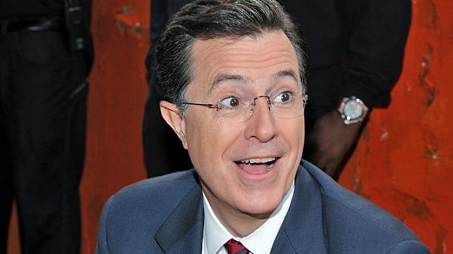 Stephen Colbert Gives Mitt Romney a Stand-Up Comedy Lesson