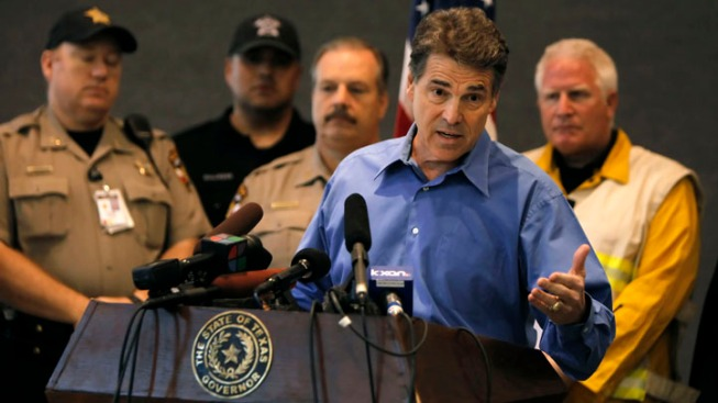 Gov. Perry Cancels Visit of Areas Hit by Wildfire