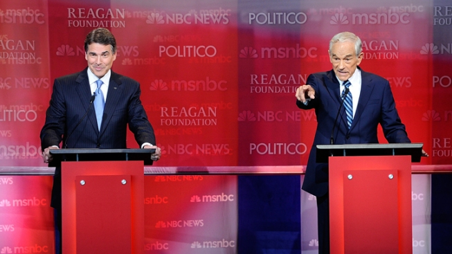 Perry Vs. Paul in GOP Debate