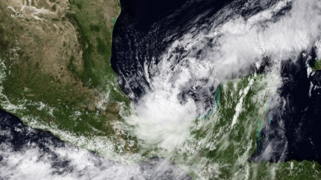 Tropical Storm Nate Grows Stronger